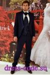 Мужской костюм 2114 Baggi синий френч