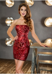 Элара - короткое платье футляр