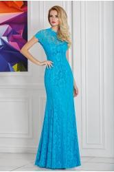Эстель - кружевное вечернее платье в пол