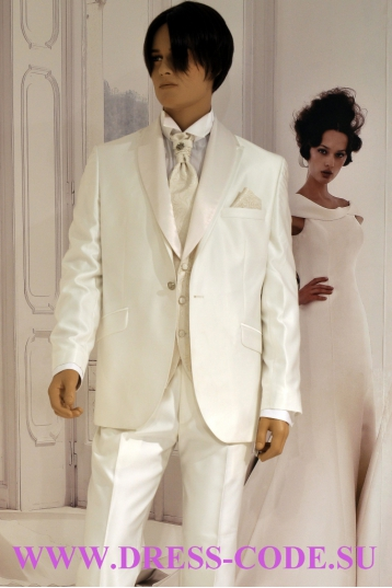 Мужской костюм 141S220 SIDNEY IVORY