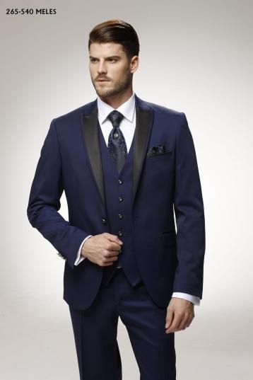 Мужской костюм 265-540 синий