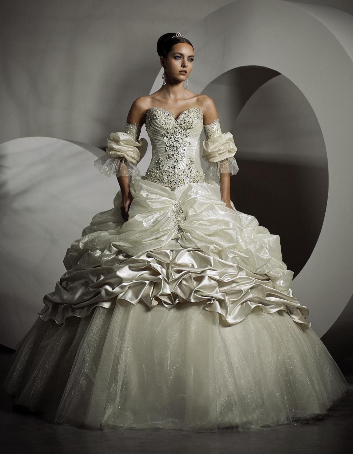 Свадебные корсет и юбка фото