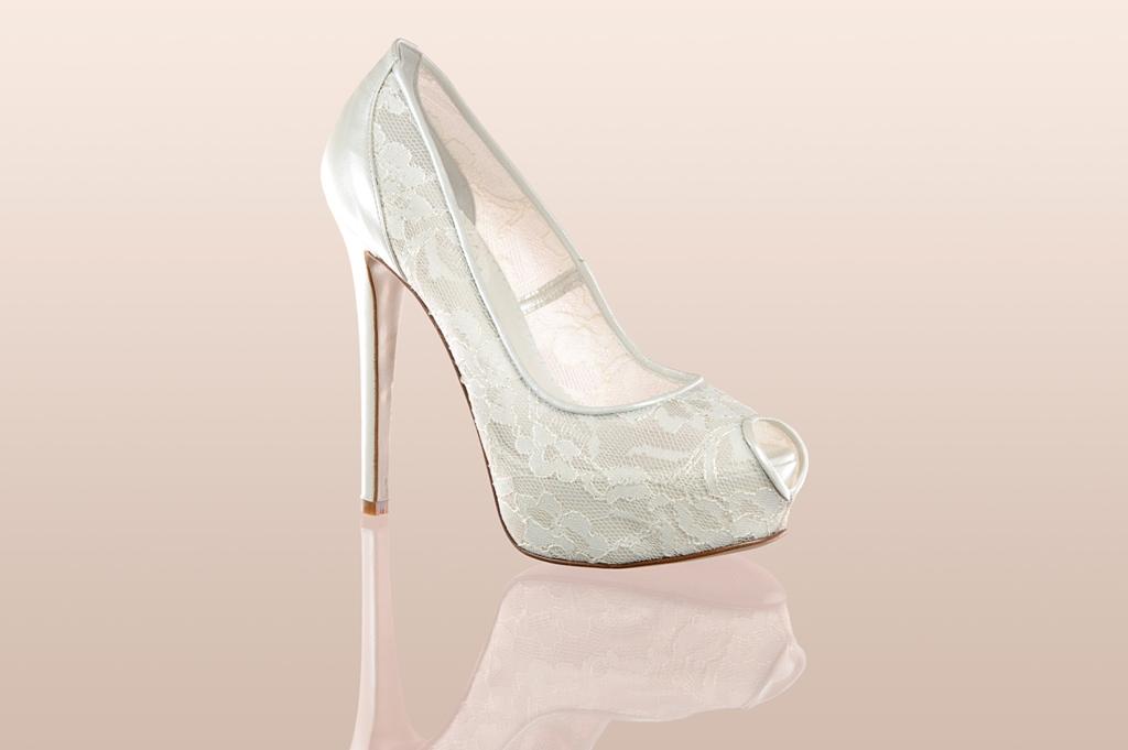 Свадебные туфли F 7500 PIZZO | Итальянские свадебные сапожки