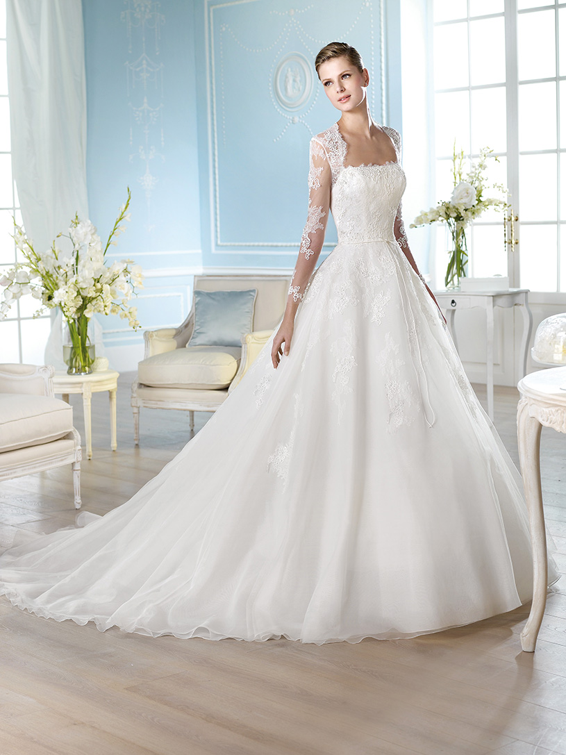 Свадебное платье HALORY | St.Patrick свадебные платья от Pronovias