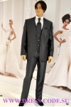 Мужской костюм 146-100 темно серый
