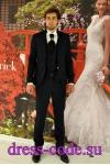 Мужской костюм 2106-2 Baggi синего цвета