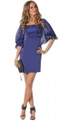 Вечернее платье 478 с накидкой