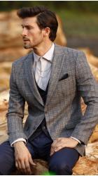 Мужской костюм кэжуал (casual) 15151