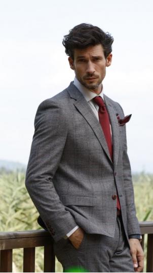 Мужской костюм кэжуал (casual) 1